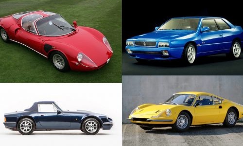 Top 10 Italian sports car tax specials