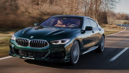 2021 Alpina B8 revealed, based on BMW M850i Gran Coupe