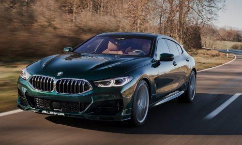 2021 Alpina B8 revealed, based on BMW M850i Gran Coupe