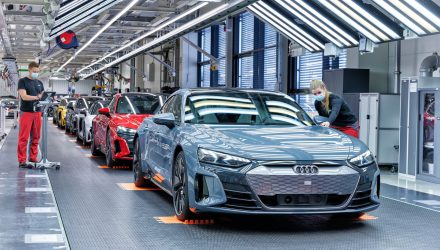 Audi reports 1.7 million global sales in 2020, down 8.0%