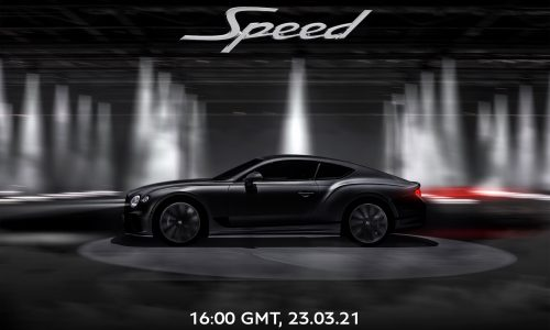 """2021 Bentley Continental GT Speed to be """"most dynamic"""" model yet"""