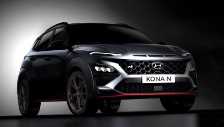 Hyundai Kona N previewed again, exterior revealed
