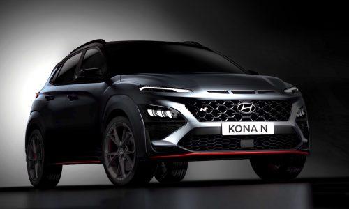 Hyundai Kona N previewed again, exterior revealed