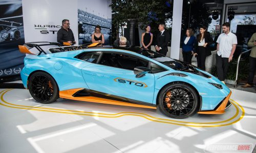 Lamborghini Huracan STO makes Australian debut