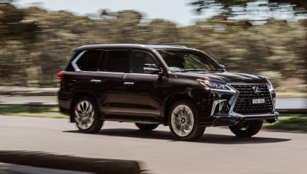 2021 Lexus LX 570 S facelift announced, on sale in Australia