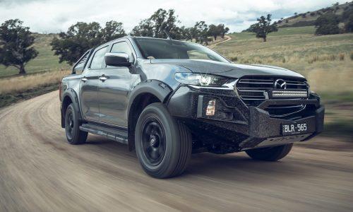 Mazda Australia announces rugged BT-50 Thunder variant