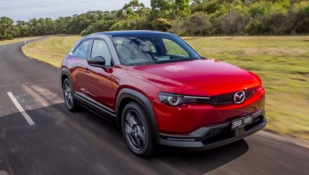 Mazds MX-30 M Hybrid arrives in Australia, priced from $33,990