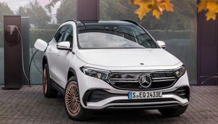 Mercedes-Benz EQA 250 on sale in Australia in April