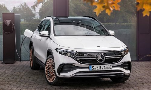 Mercedes-Benz EQA 250 on sale in Australia in April