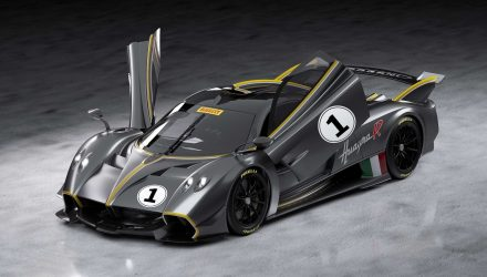Pagani Huayra R unveiled as track-only Zonda R successor