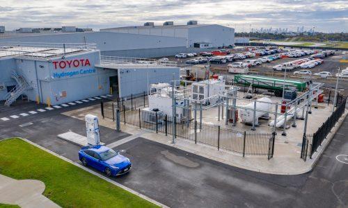 Toyota Australia unveils hydrogen production, refuelling station in Victoria