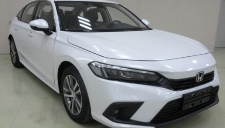 Production-spec 2022 Honda Civic sedan leaks in China