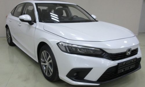 Production-spec 2022 Honda Civic sedan leaks in China