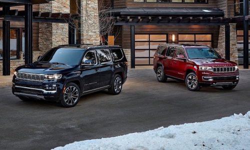 2022 Jeep Wagoneer & Grand Wagoneer revealed, they're big