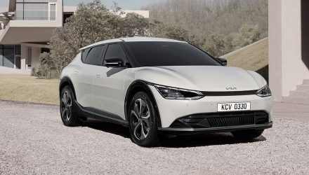 2022 Kia EV6 revealed, debuts 'Opposites United' design language