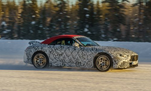 2022 Mercedes-Benz SL will be AMG-only, AWD-only (video)