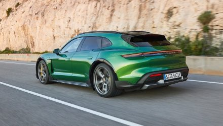 Porsche Taycan Cross Turismo revealed, 4S and Turbo for Australia