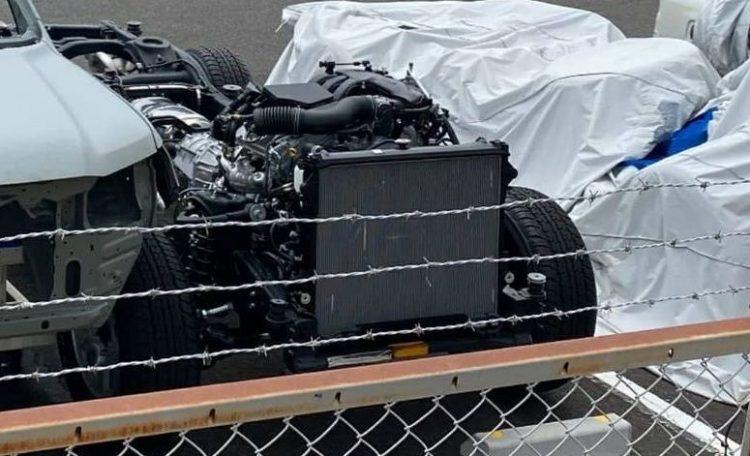 2022 Toyota LandCrusier 300 Series V6 Engine