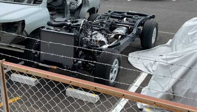 2022 Toyota LandCrusier 300 Series Chassis