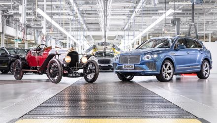 Bentley surpasses 200,000-unit production milestone