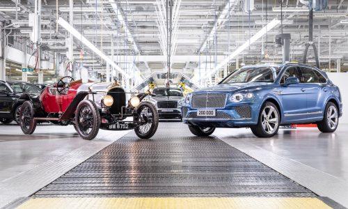 Bentley surpasses 200,000-unit production milestone