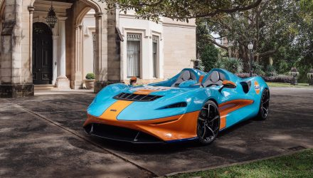 McLaren Elva Gulf makes Australian debut at Sydney Concours event