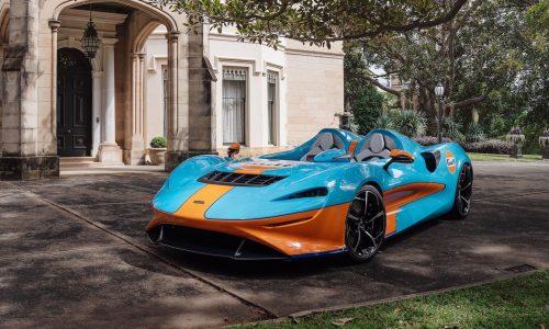 McLaren Elva Gulf makes Australian debut at Sydney Concours event