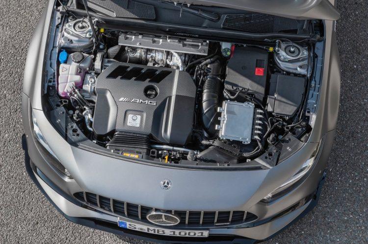 Mercedes-AMG A 45 S M139 engine
