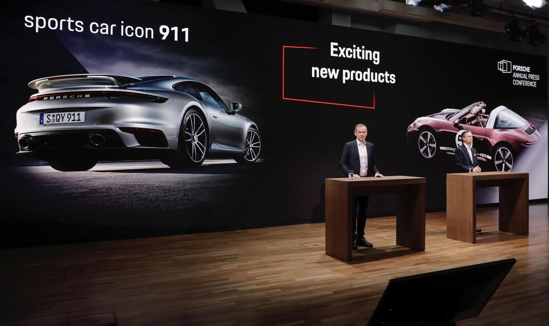Porsche achieves record revenue in 2020, despite sales down 3%