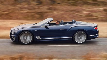 Bentley unveils new Continental GT Speed Convertible