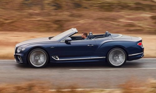 Bentley unveils new Continental GT Speed Convertible