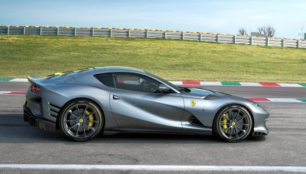 Special edition Ferrari 812 Superfast revealed, gets 9500rpm V12