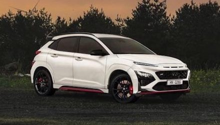 2021 Hyundai Kona N leaked