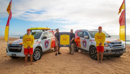 Isuzu Ute teams up with Surf Life Saving Australia