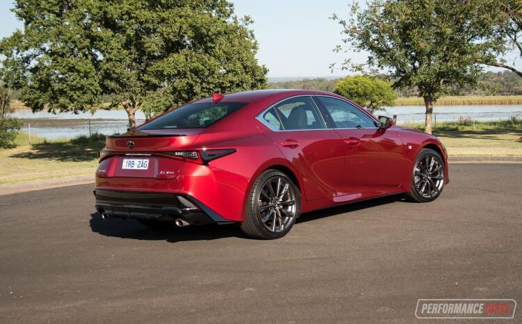 2021 Lexus IS 350 F Sport-Australia