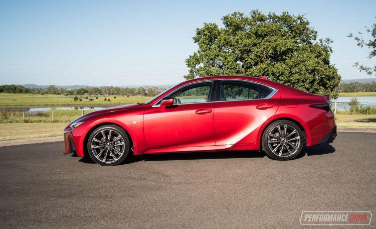 2021 Lexus IS 350 F Sport-doors