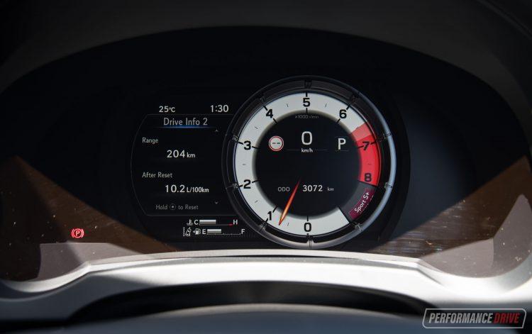 2021 Lexus IS 350 F Sport-instrument cluster