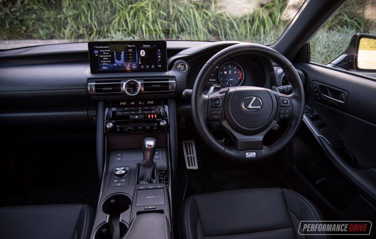 2021 Lexus IS 350 F Sport-interior