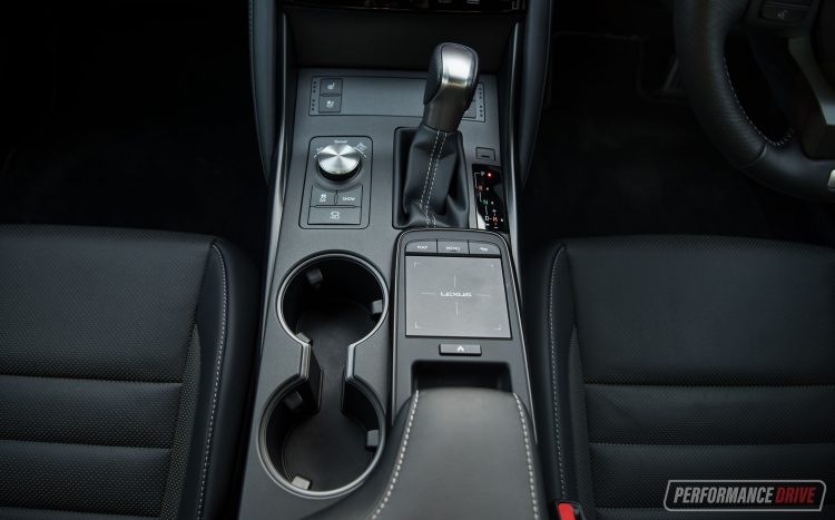 2021 Lexus IS 350 F Sport-touch pad