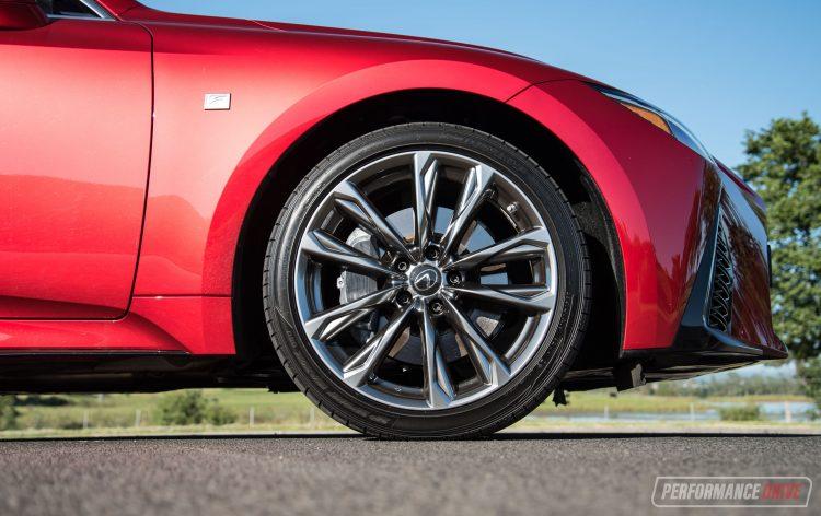 2021 Lexus IS 350 F Sport-wheels