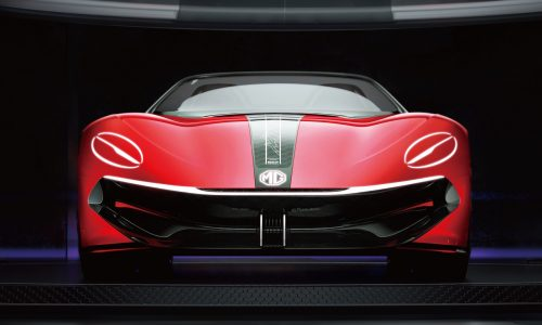 MG Cyberster concept previewed, inspired by MGB Roadster