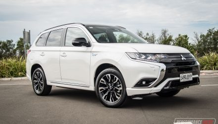2021 Mitsubishi Outlander GSR PHEV review (video)