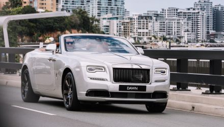 Rolls-Royce Dawn Silver Bullet lands in Australia, only 1 in the country