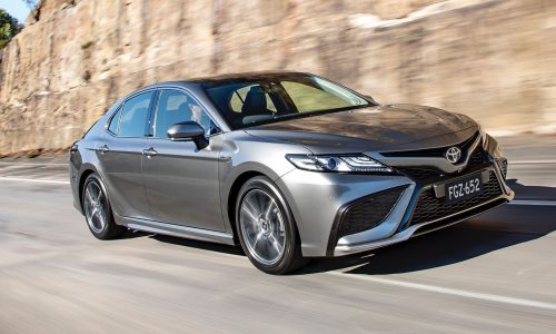 Facelifted 2021 Toyota Camry now on sale in Australia