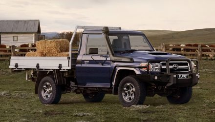 Updated 2021 Toyota LandCruiser 70 Series now on sale