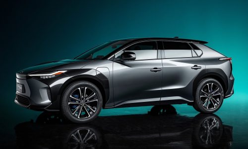 Toyota bZ4X concept previews electric SUV, co-developed with Subaru
