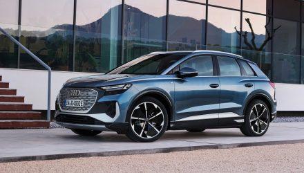 Electric Audi Q4 e-tron unveiled, up to 520km range