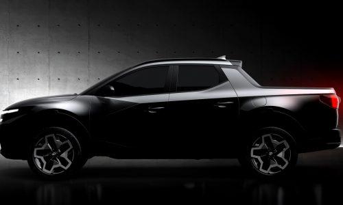 Production-spec 2022 Hyundai Santa Cruz previewed