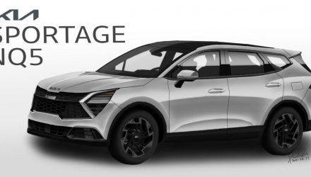 Is this what the 2022 Kia Sportage 'NQ5' will look like?