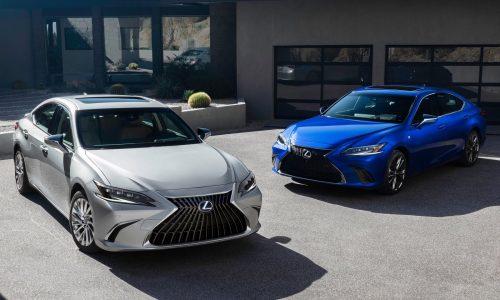 2022 Lexus ES unveiled, confirmed for Australia
